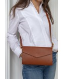 INES - Handbag 3 in 1 Cognac
