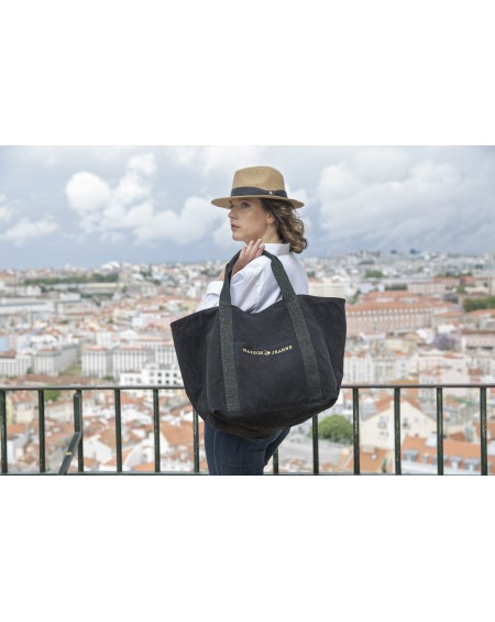 24H LILLY PLUS - The Canvas Tote Bag Black