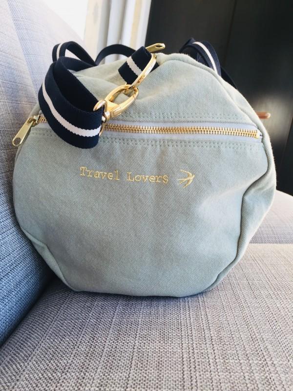 RAFAEL - Almond green Sports Bag