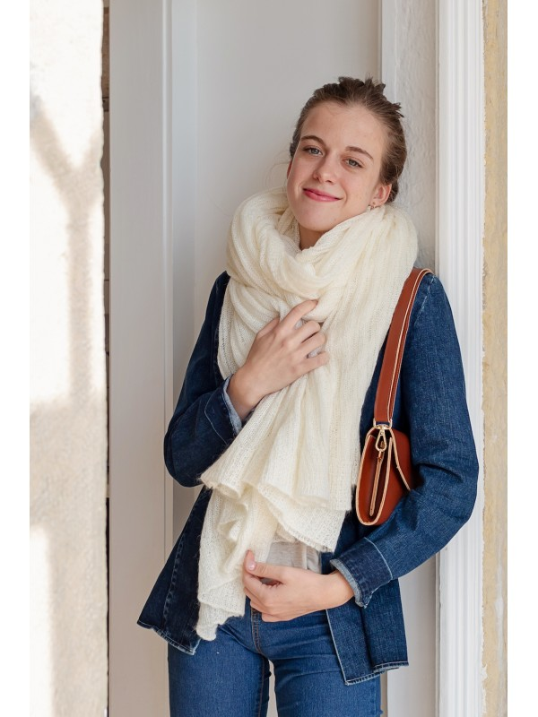 LAURA - Knit Stole