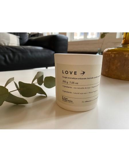 BOHEMIA - Bougie aromatique artisanale