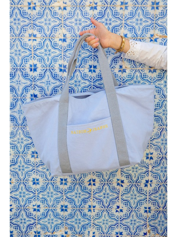 LILLY - Grand Tote Bag Ice Blue