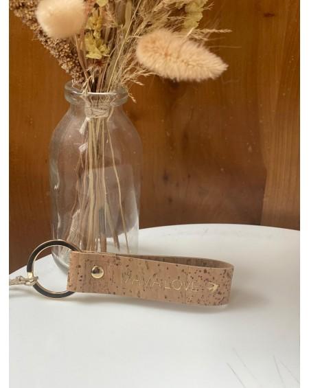 Vegan Key-Ring EMILIO Cork