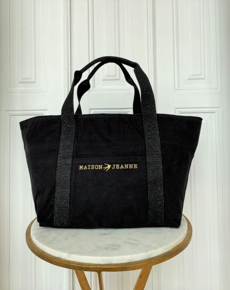 Large Cabas Tote bag LILLY Black