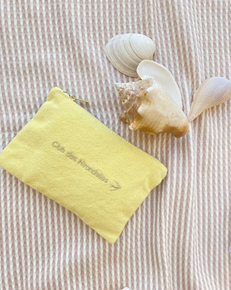 Small Pouch Madeleine - Mimosa Yellow