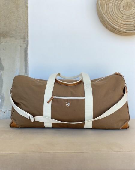 Grand sac de Voyage JEANNE Camel