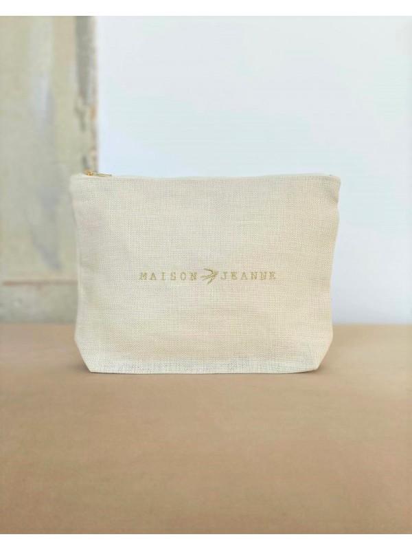 Toiletry Bag Sonia - Seashell linen