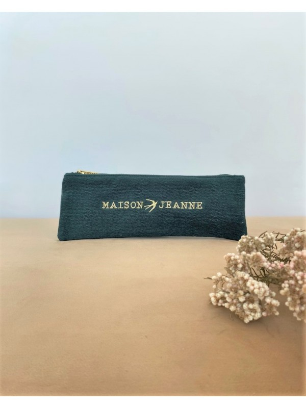 Trousse Scolaire Nat - Vert Sapin