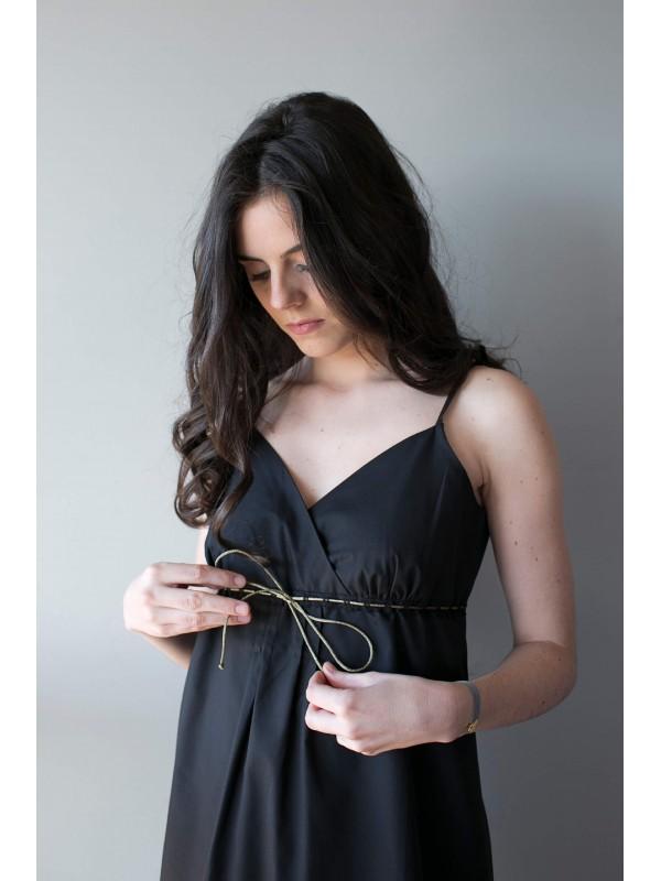 GALANCE - La robe night&day noire