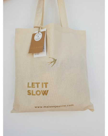 LET IT SLOW - Le tote bag
